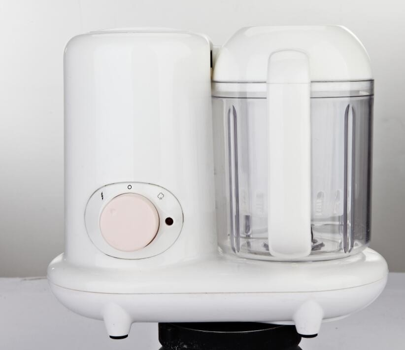 PP All In One Baby Food Maker White Color Steaming And Stirring Function