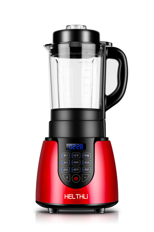 Popular Commercial Heated Food Processor Red Color With Smart Point Cleaning