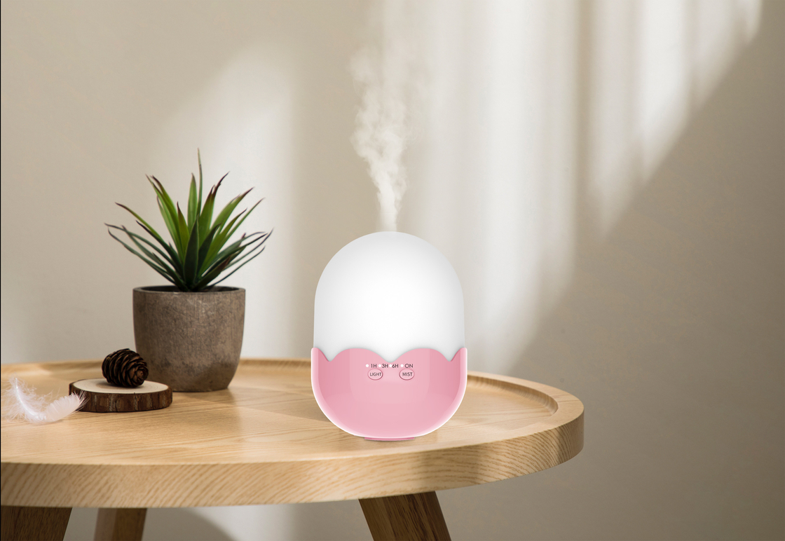 Ultrasonic Portable Wood Aroma Diffuser Humidifier For Children Gifts